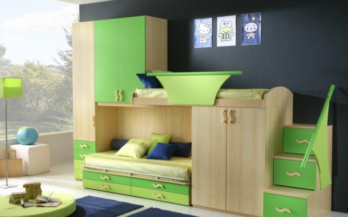 Дизайн детской комнаты с
