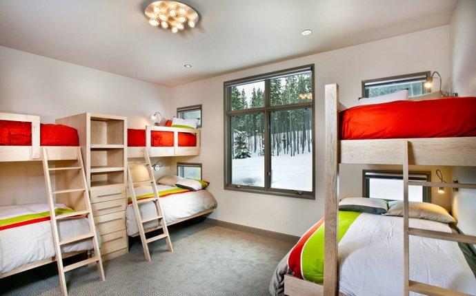 6 двухъярусных кроватей в