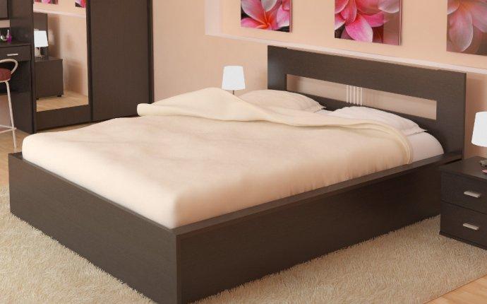 Дизайн двуспальных кроватей
