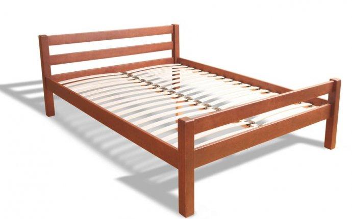 Кровать деревянная простая