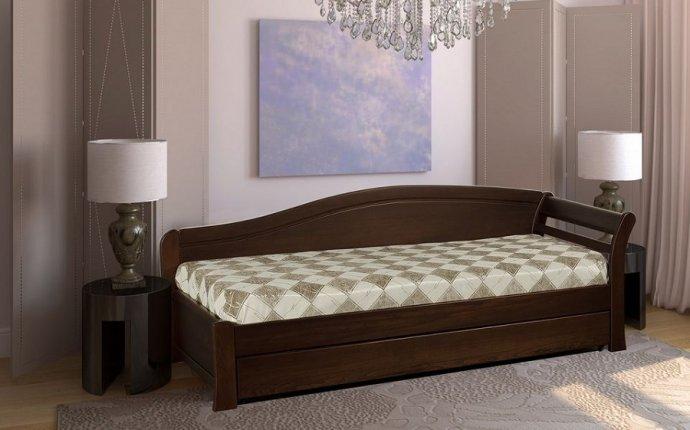 Односпальная кровать из