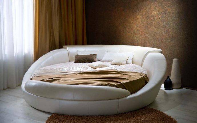 Круглая кровать Онтарио в
