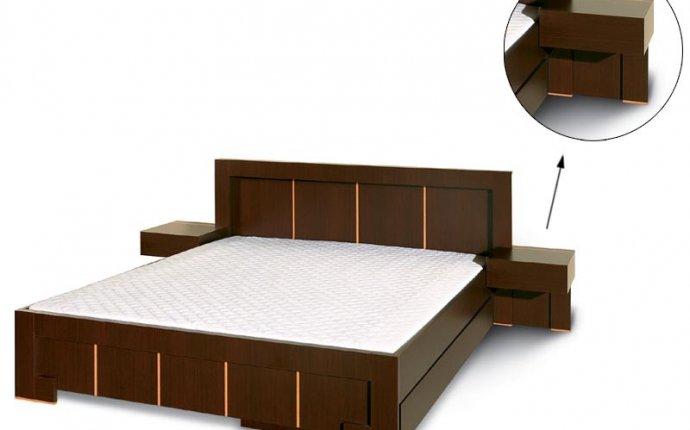Кровати с тумбочками фото