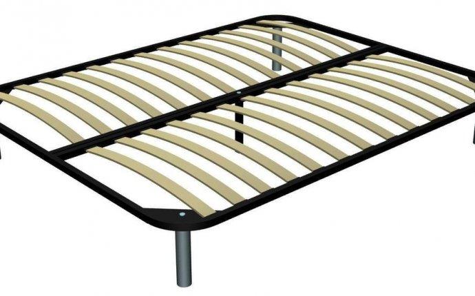 Кровать - основание с ламелями