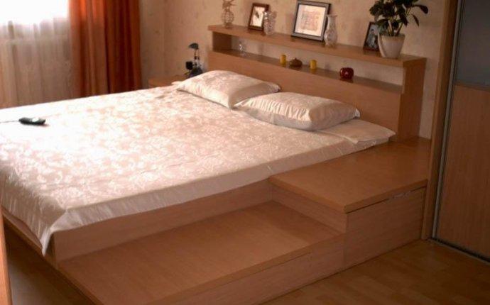Двуспальная кровать на заказ по индивидуальным размерам
